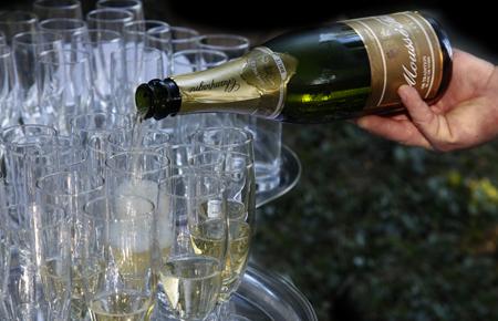 Champagne Cocktail réception Traiteur Maison Ramel Dole et Dijon