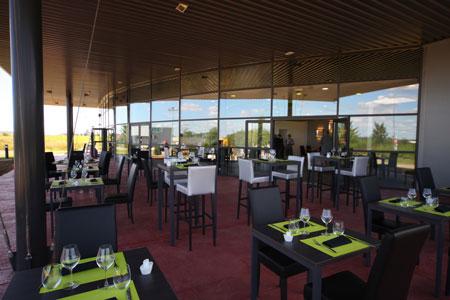 Terrasse restaurant maison Ramel à Dole