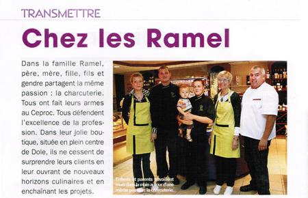 Article Chez les Ramel - Maison Ramel Dole