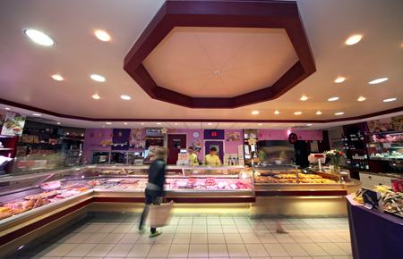 Boutique centre ville Dole traiteur Maison Ramel